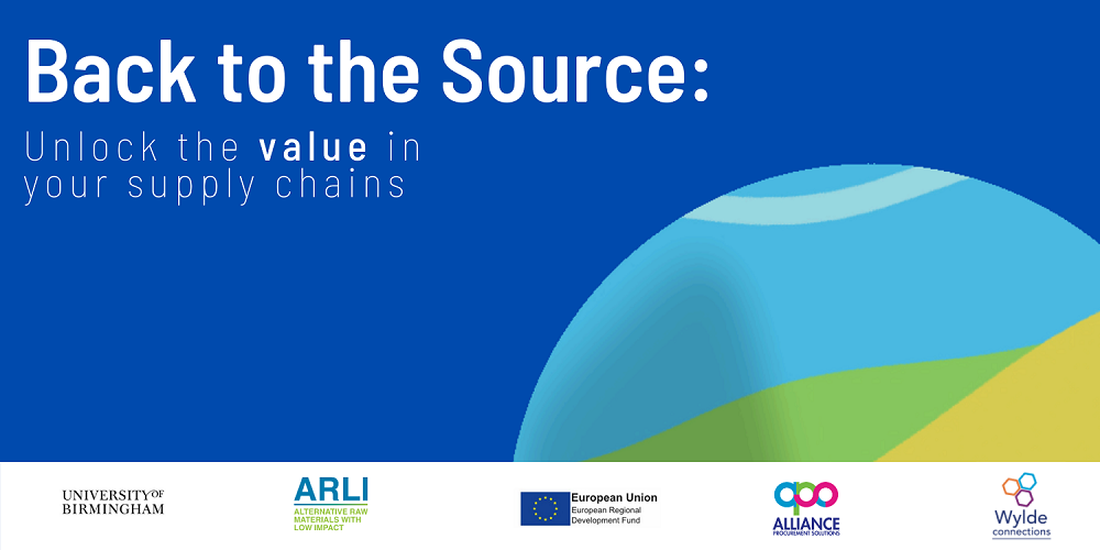22nd April 2021: Back to the Source: Unlock the value in your supply chains